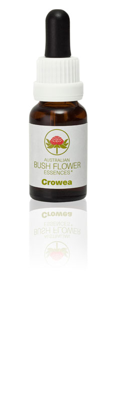 Crowea Flower Essence helps you balance and centre yourself.