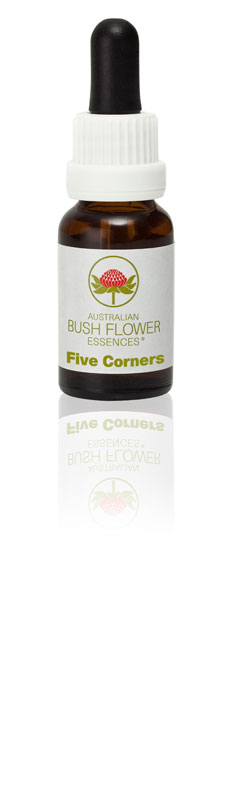 Five Corners Flower Essence helps with low self-esteem and lack of self-love.