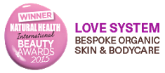 Winner Natural Health and Beauty Awards 2015 - Love System